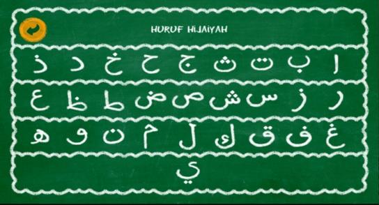 belajar baca huruf hijaiyah