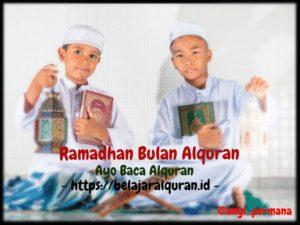 belajar alquran di bulan ramadhan