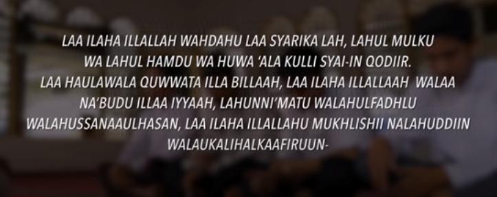 tatacara doa setelah sholat