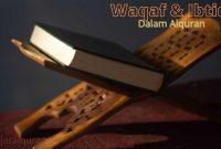 waqaf dan ibtida dalam alquran